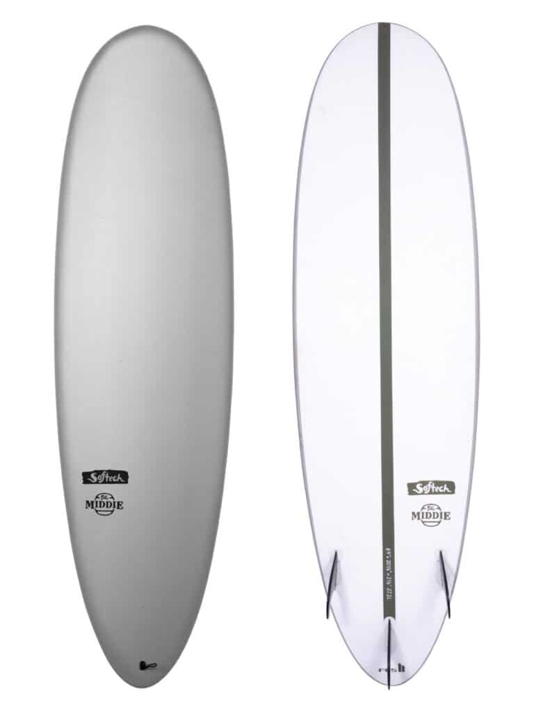 softech middie new expoxy softboard 2021