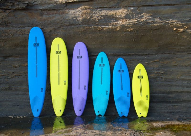 Ocean and Earth learner soft top surfboards