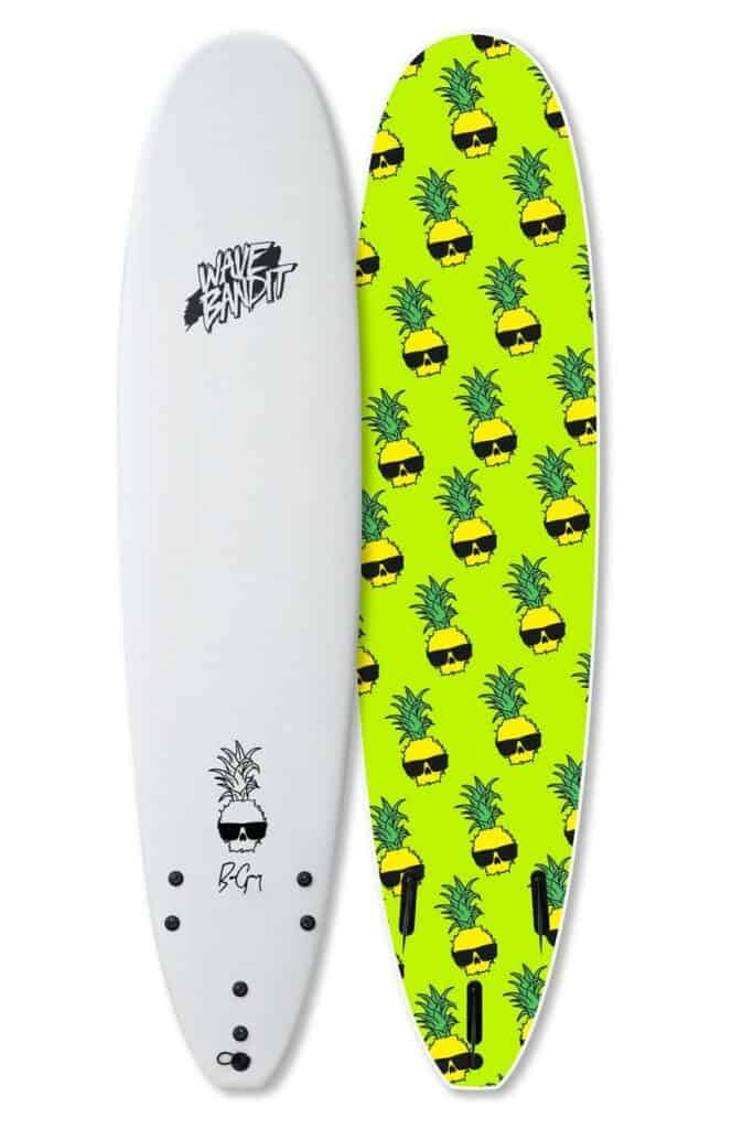 wave bandit easy rider soft top longboard