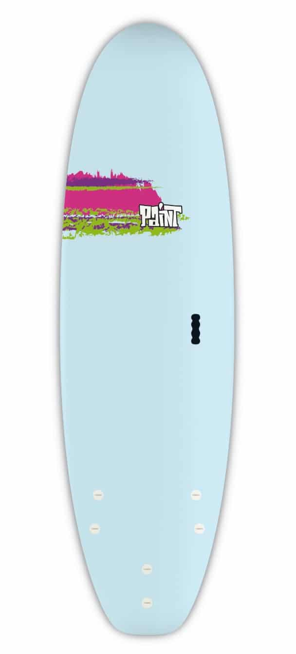 bic surfboards 6'0 paint shortboard review