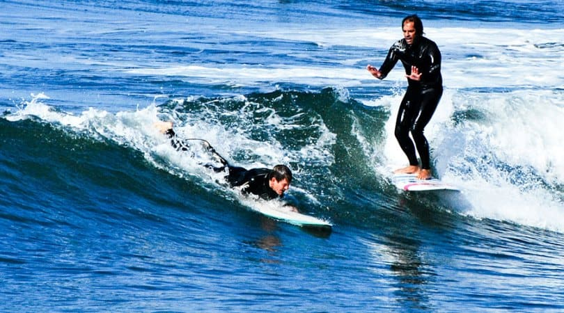 surfing safety guide beginner surfers priority rule