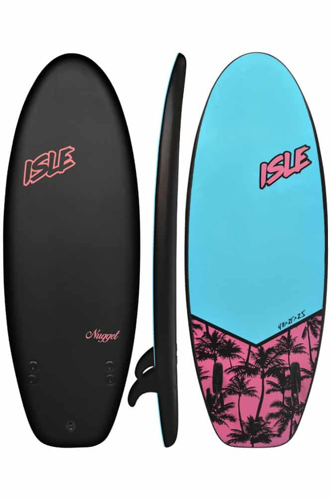 isle surfboards nugget 4'11 soft top