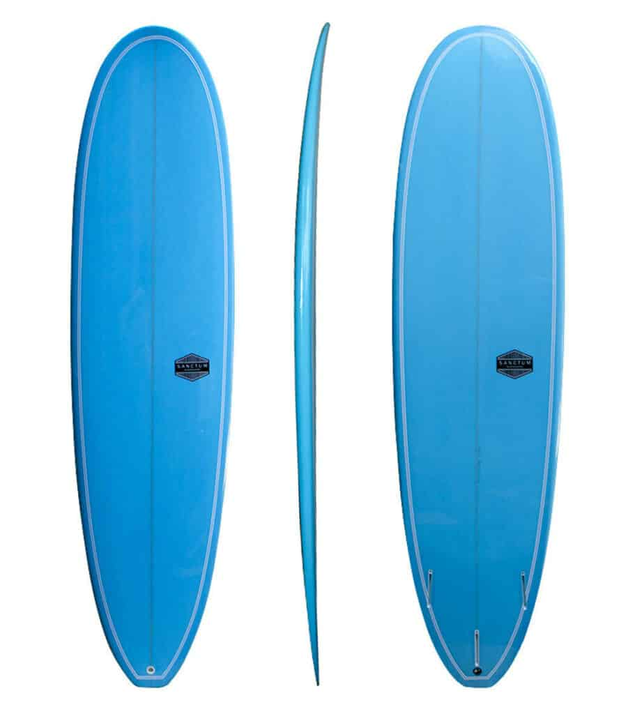 mini mal - different types of surfboards